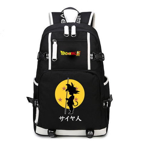 Japan anime Dragon Ball Z Backpack Cosplay Dragon Ball Super Son Goku Canvas Super Saiyan Schoolbag Travel Bags Computer package COS BAG MADE Store 1