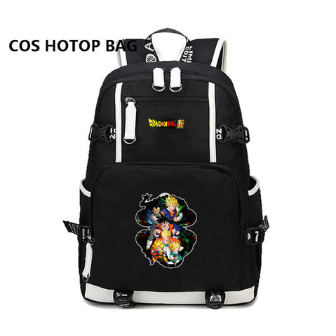 Japan anime Dragon Ball Z Backpack Son Goku Super Saiyan Kakarotto Cosplay Schoolbag Shoulder Laptop Travel Bags 32 style COSPLAY81888 Store 1