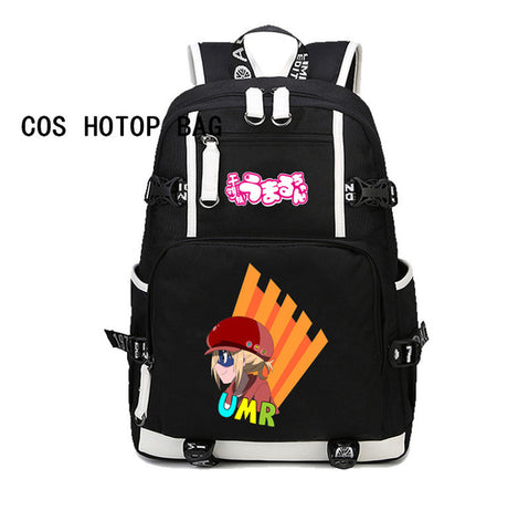 Japan anime Himouto! Umaru-Chan Travel Backpack Daily Backpack Doma Umaru Printing Daily Backpack canvas Rucksack 8 style COSPLAY81888 Store 1