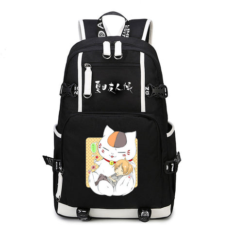 Japan anime Natsume Yuujinchou Backpack Men Knapsack Large Capacity Travel Bags School Bags Rucksack Shoulders bag Package COS BAG MADE Store 1