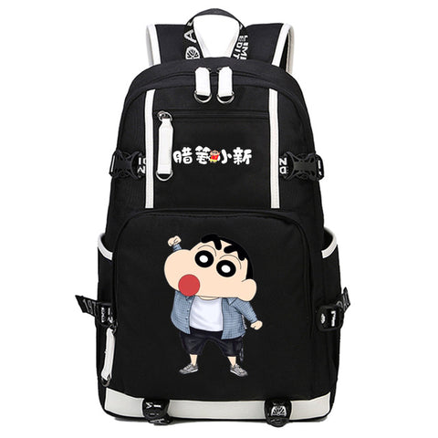 Japan anime Nowara Shinnosuke Backpack Cosplay Fashion Canvas Bag Luminous Schoolbag Travel Bags packsack COS BAG MADE Store 1