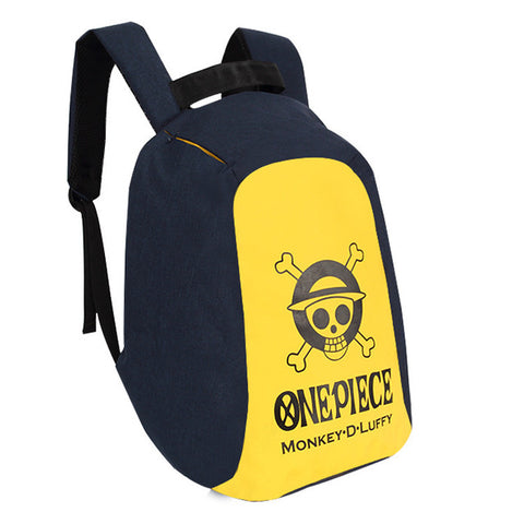 Japan anime One Piece backpack unisex cartoon softback zipper Shoulder Bag Travel Bag oxford Packsack COS BAG MADE Store 1