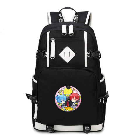 Japanese Anime Assassination Classroom Ansatsu Kyoushitsu Backpack Print Shoulder School Bags Backpacks fashion bag suuman Store 1