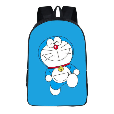 Japanese Anime Doraemon 2PC Set with Pencil Case Student Backpacks DIY Printing Cool School Bags For Boys Kids Men Book Bag New runningtiger Schoolbag Store 1