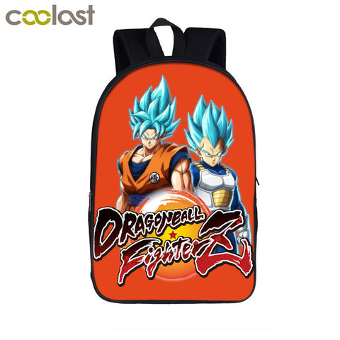 Japanese Anime Dragon Ball Z / Super Backpack Children School Bags Teenager Boys Girls School Backpack Saiyan Goku Book Bag Gift COOLOST Factory Store 1