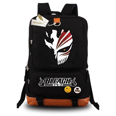 Japanese Anime Luminous Backpack Fashion Cartoon Bleach Rucksack Students School Bags Bookbag Laptop Travel Bags COS BAG MADE Store 1