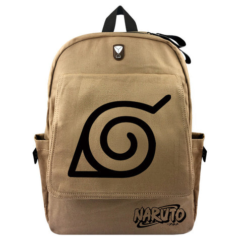 Japanese Anime Naruto Canvas Backpacks Uzumaki Shoulder Bag Cool Children Rucksack Bookbag For Teenagers Travel Bag Shop3630034 Store 1
