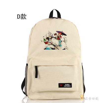 Japanese style Anime Gintama Backpack CASUAL unisex Students BACKPACK Shop1168061 Store 1
