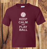 Trendy Pop Culture Keep Calm and and play ball Baseball All about the bass shirt tshirt Unisex Toddler Ladies All Sizes - Animetee - 1