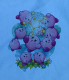 Soft Premium Quality Nintendo N64 gameboy DS 3ds Kirby's Adventure  T-Shirt Tee Tshirt - Animetee - 2