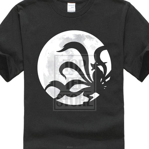 Kyuubi Naruto Anime Japan Movie Gaara Kakashi Hokkage Nine Tails T Shirt Black skull city Store 1