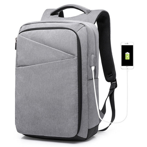 LHLYSGS brand mark ryden laptop backpack Men's student schoolbag light USB male bag business double shoulder bag rechargeable LHLYSGS Makeup Store 1
