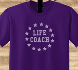 Pop Culture Trendy Life Coach Psychology Therapist Drug counselor Tee T-Shirt Ladies Youth Adult Unisex - Animetee - 2
