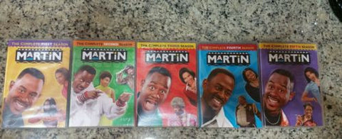 Officially licensed Martin Complete Series Season 1-5 (1 2 3 4 & 5) 20 Disk Set - Animetee