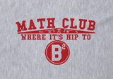 Trendy Pop Culture Math Club Where it's hip to be square b2 Tee T-Shirt Ladies Youth Adult - Animetee - 2