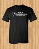 Copy of Pop Culture Trendy I'm a meatetarian It's a personl choice Vegetarian parody Tshirt Tee T-Shirt Ladies Youth Adult Unisex - Animetee - 1