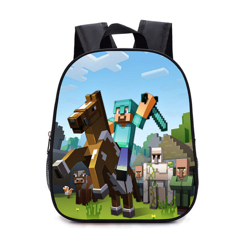 Minecraft Toddler Backpack All for School Minecraft Lego Backpack Kids Batman Bag High Quality anime Batman Backpack bts Bookbag Good Lucy EveryDay Store 1