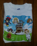 Soft Premium Quality Custom Kiki's Delivery Totoro Laputa Nausicaa Howls Moving Shirt Tee Tshirt T-Shirt - Animetee - 1
