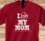 Pop Culture Trendy I love my mom when she makes a home cooked meal Tshirt Tee T-Shirt Ladies Youth Adult - Animetee - 1