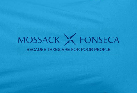 Mossack fonseca tax haven because taxes are for poor people Tee T-Shirt - Animetee - 1