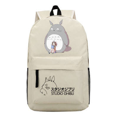 My Neighbor Totoro Backpack Japan Cartoon Anime Shoulder Bag Rucksack Bookbag for Teenager Students Boys Girls Bag-Show Store 1