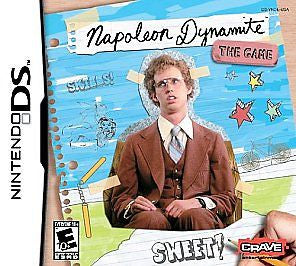 Officially Licensed Nintendo DS – Nintendo DS, DSi, Lite, XL - Napoleon Dynamite Brand New - Sealed - Animetee