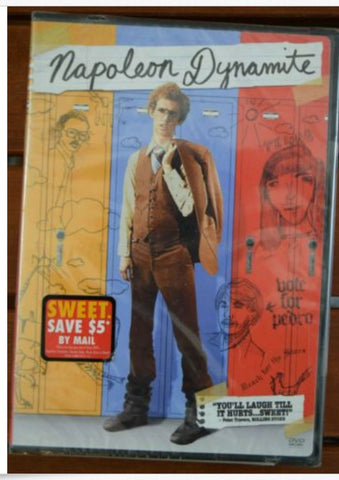 Officially Licensed Napoleon Dynamite DVD NEW Sealed - Animetee