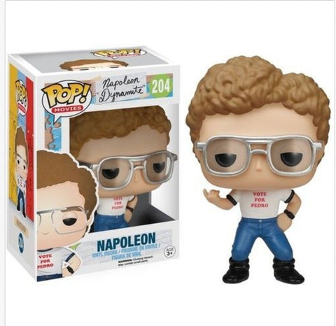 Officially Licensed Napoleon Dynamite - Napoleon Funko Pop! Movies Toy - Animetee