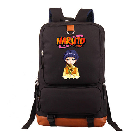Naruto Backpack Cartoon Student School Bag Leisure Time Shoulders Laptop Travel Bags Anime Backpack Gift For Boy Girls anime-bar Store 1