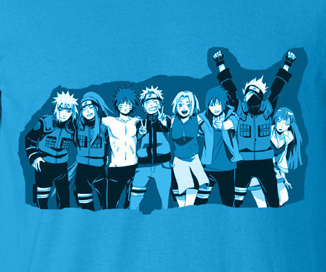 Naruto Movie Road to Ninja Menma Team 7 T-Shirt Tee - Animetee - 1