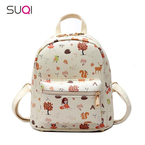 New Japanese kawaii style women's backpack high-quality PU material young girl&female with fashion student backpack Mochila lemon kitten Online Store 1