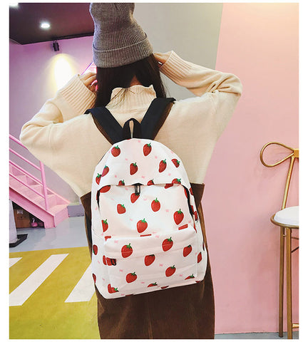 New Japanese popular schoolgirl backpack simple little girl backpack cute multicolor High school student backpack free shipping Discount bag7 Store 1