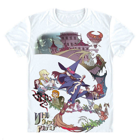 New Little Witch Academia T-Shirt Cosplay Costume Anime Men T shirt Women Clothing Tees Japan Anime Tee shirt Gift clothes J&M Factory 1