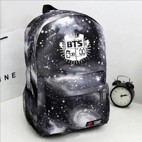 New Men Backpack bulletproof juvenile star bag bts Bagpack student college wind Teenage Backpacks for Teen Girls boys Mochila Integrity high-quality Store 1
