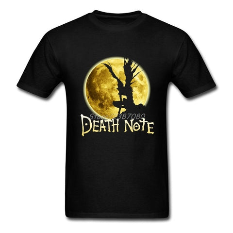 New Style Anime Death Note T Shirt Kpop Brand Clothing Cotton Crewneck Plus Size Short Sleeve Custom Men Shirts JYKJ Shirts Store 1