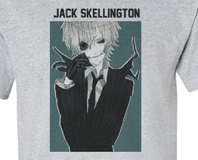 Premium Anime Jack Skellington Nightmare before Christmas Tee T-Shirt - Animetee - 1
