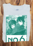 Custom Fanmade No.6 Shion Nezumi T-Shirt Tee Tshirt - Animetee - 1