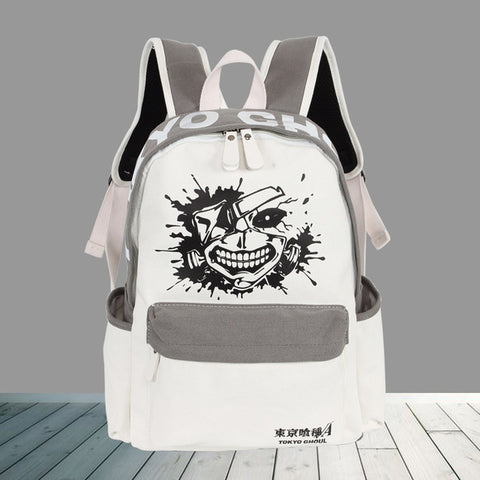 One Piece Backpacks Japan Anime My Neighbor Totoro NARUTO Tokyo Ghoul Cosplay Shoulder Bag Laptop Rucksack School Bags 8 style COS BAG MADE Store 1