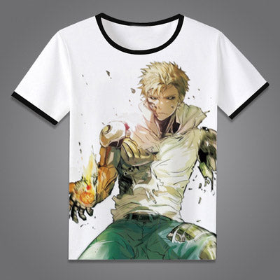 One Punch Man T-Shirt New Japan Anime Tops Tees Summer Men Women One-Punch Man Cosplay Short Sleeve T shirt Costumes/Accessories Store 1