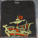 Custom One Piece Straw Hat Pirates ship Going Merry Shirt T-shirt tee Tshirt - Animetee - 1
