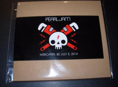 Officially Licensed PEARL JAM 2X CD 7-5-14 WERCHTER 2014 official bootleg concert eddie vedder - Animetee