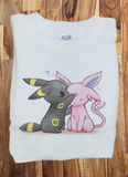 Custom Premium Eeveelution Pokemon Eevee Cute Shirt T-Shirt Tee - Animetee - 1