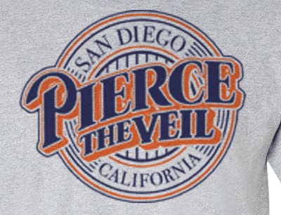 Premium Pierce The Veil San Diego Padres Tee Logo T-Shirt - Animetee - 1