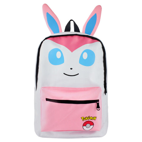 Pokemon Sylveon Cosplay Backpack School Bags Backpack for Students Womens Mens Boys Girls Cartoon Anime Cool Travel Backpack Shop3126025 Store 1