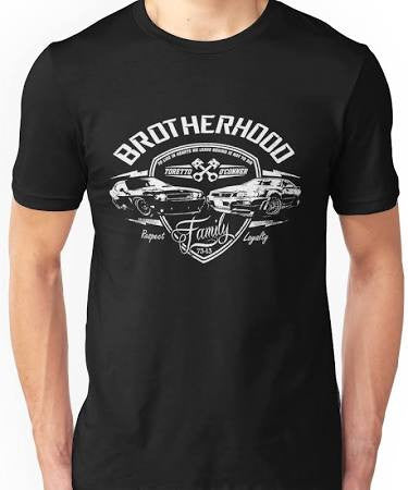 Brotherhood is Not Die Vin Diesel Fast and Furious 1 2 3 4 5 Tee T-Shirt - Animetee