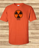 Trendy Pop Culture Radiation Nuclear Biohazard rad cool fun  Tee T-Shirt Ladies Youth Adult Unisex - Animetee - 1