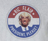 Premium Rick Ric Flair Woo for President please election Tee Tshirt T-Shirt sting warrior undertaker wwe wwf - Animetee - 1