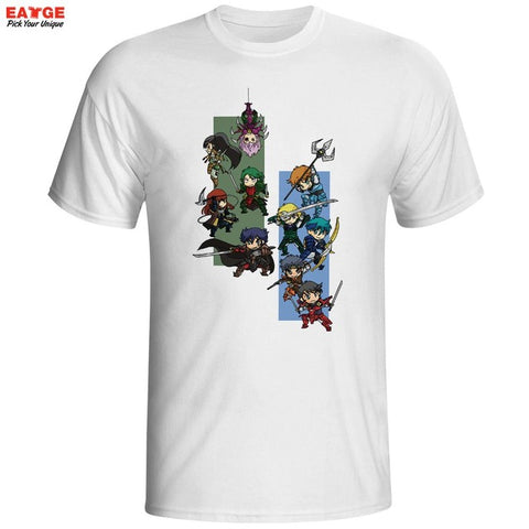 Ronin Warriors Yoroiden Samurai Troopers T Shirt Nostalgic Japanese Anime T-shirt Style Cool Casual Novelty Tshirt Printed Tee EATGE Store 1