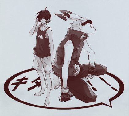 Custom Fanmade Summer Wars Rabbit T-Shirt Tee Tshirt - Animetee - 2