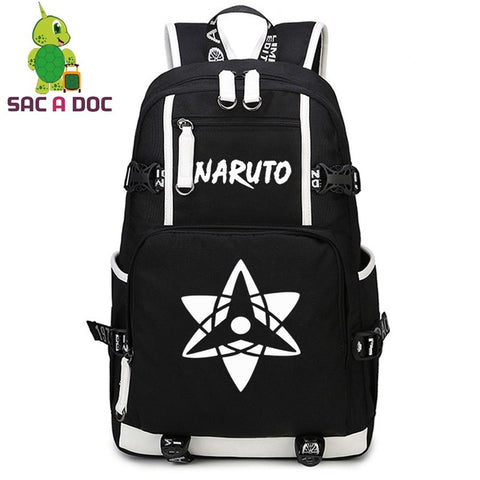 Sasuke Uchiha Cosplay Backpack Anime Naruto Printing School Backpack for Teenage Girls Boys Daily Backpack Travel Rucksack Shop3126025 Store 1